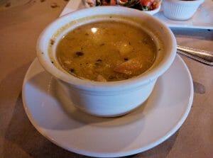 arroz de maiz soup