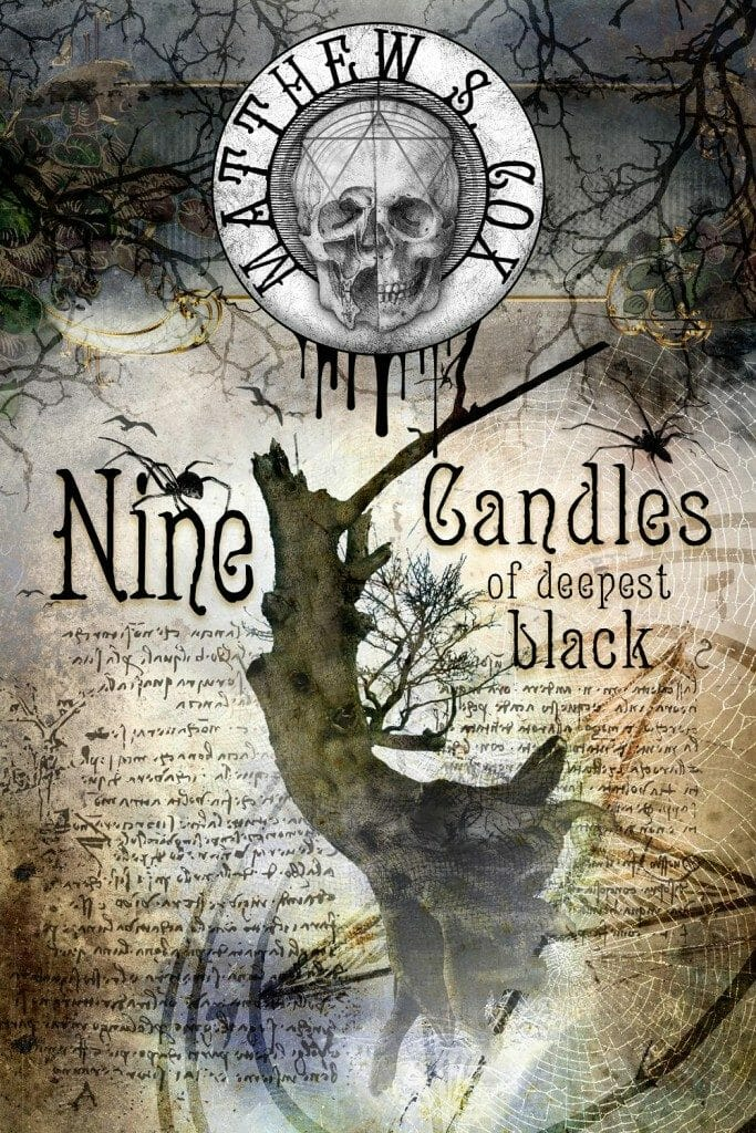 Nine Candles Of Deepest Black Cover